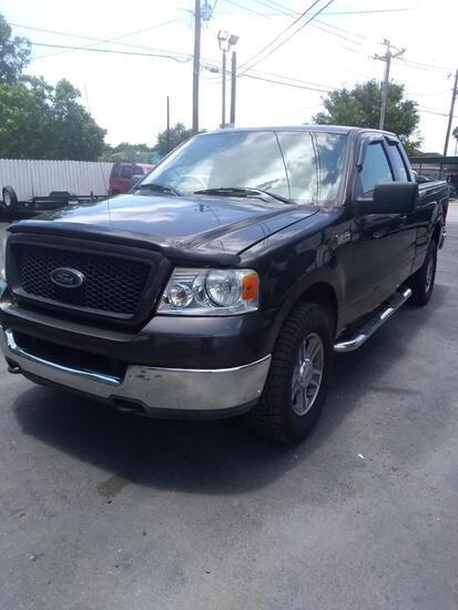 2005 Ford F-150 Pickup Truck, VIN # 1FTPX14595FA18779