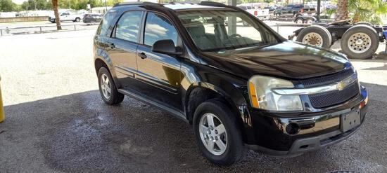 2007 Chevrolet Equinox Multipurpose Vehicle (MPV), VIN # 2CNDL13F076248809