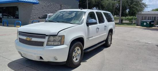 2007 Chevrolet Suburban Multipurpose Vehicle (MPV), VIN # 1GNFC160X7R359223