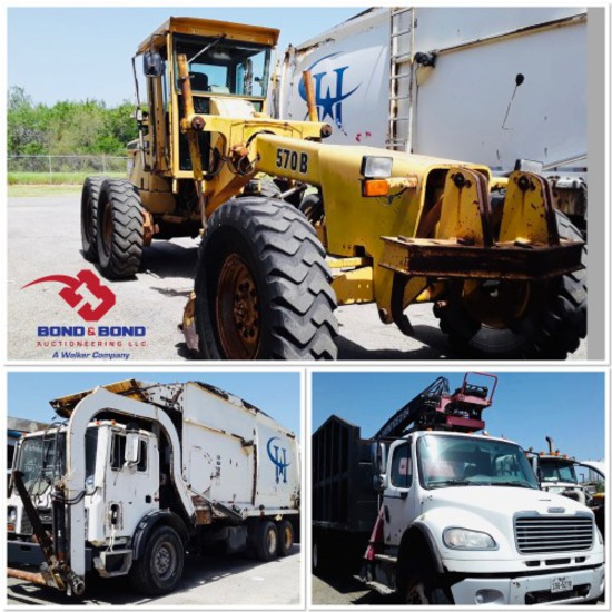 CITY OF HARLINGEN (UNRESERVED) MACHINERY/VEHICLES