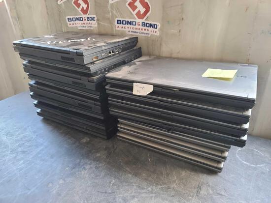 Lot w/(15) Dell Laptops