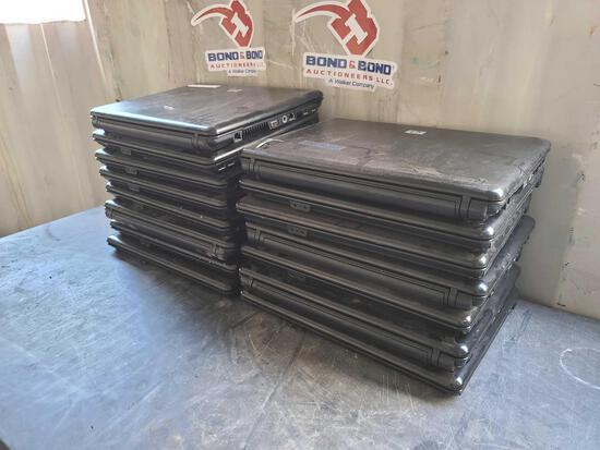 Lot w/(15) HP Laptops