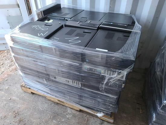 Pallet of CPU Towers