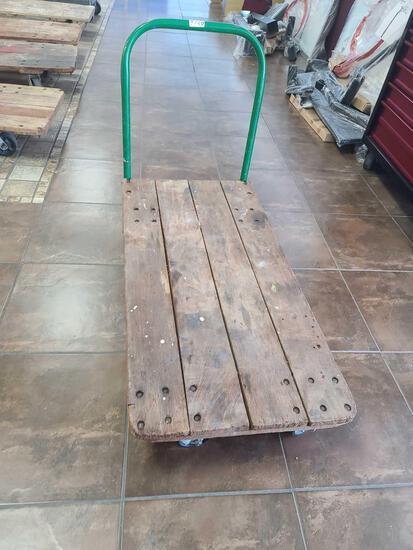 Cart w/ Wooden Base