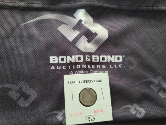 (1) Silver Rare Seated Liberty Dime