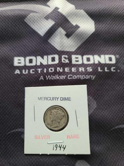(1) Silver Rare Mercury Dime ''1944''