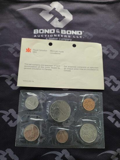 Lot w/Royal Canadian Mint Coins & U.S Uncirculated Bureau Mint Set