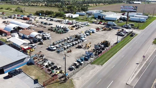 UNRESERVED MACHINERY AUCTION OILFIELD CO SELL OUT