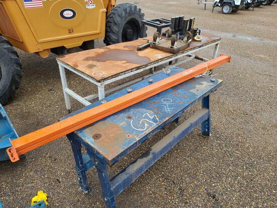 Metal Work Tables, Metal Canal Molding, Misc. Metal......