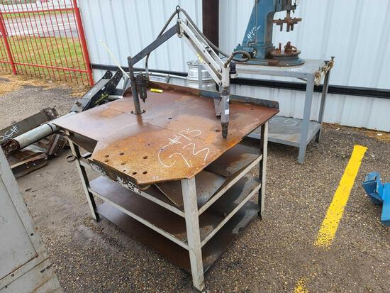 Metal Work Table & Misc. Metal Part