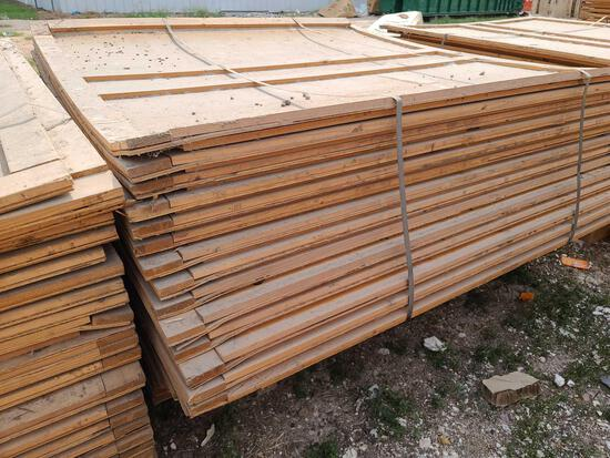 Lot w/Disassembled Shipping Plywood Crates apprx. 7ft. x 5ft..