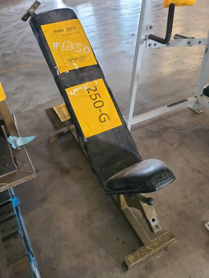 Lot w/1 Weight Equipment Seat