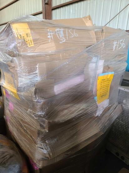 Lot w/ Pallet of Filter Bags Assorted Sizes