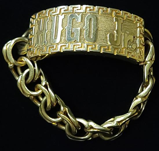 Chino Link Bracelet 10k