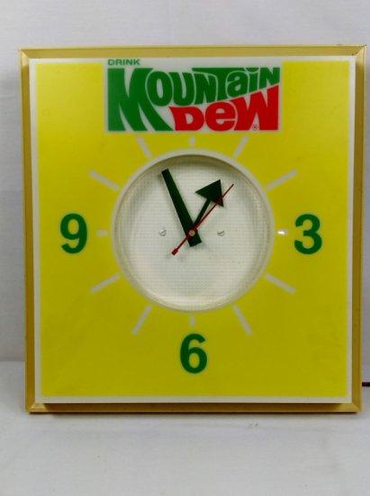 Mountain Dew Dual Light Clock