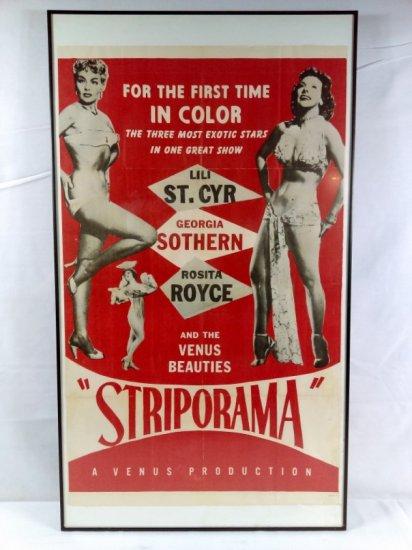 Striporama Poster