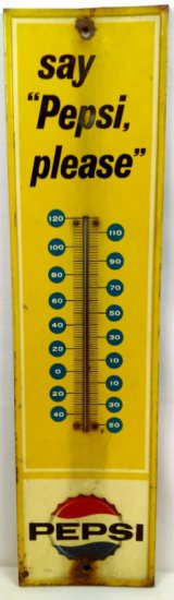 Pepsi Outdoor Wall Thermometer