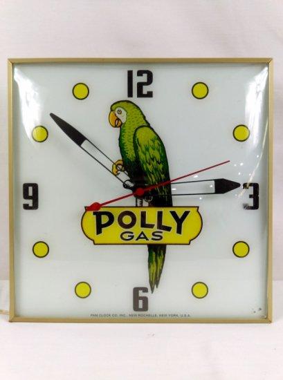 Polly Gas Pam Clock