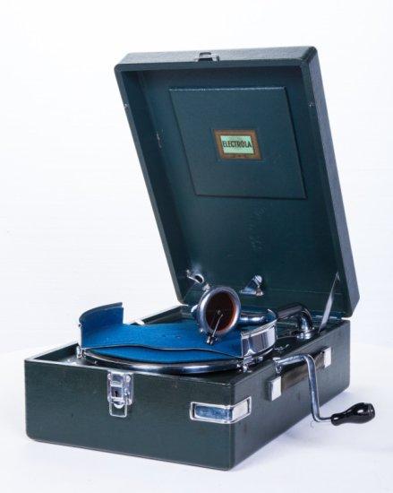 Electrola Suitcase Disc Phonograph