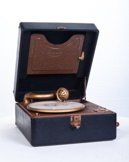 Brunswick Panatrope Suitcase Disc Phonograph