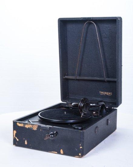 Thorens Suitcase Disc Phonograph