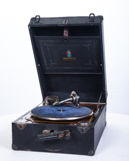 Dulcetto Suitcase Phonograph