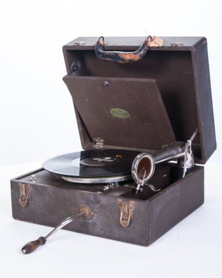 Nifty Suitcase Disc Phonograph