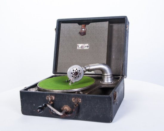 Gypsy Caswell Suitcase Disc Phonograph