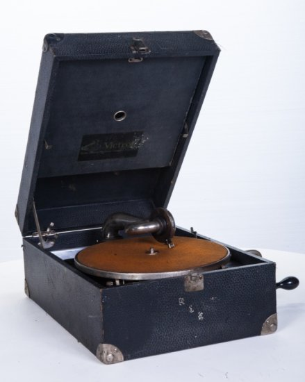 Victor Suitcase Disc Phonograph