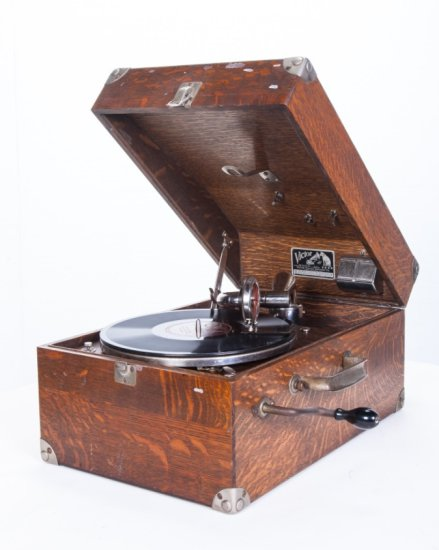 Victor Victrola VV-50 Suitcase Portable Phonograph