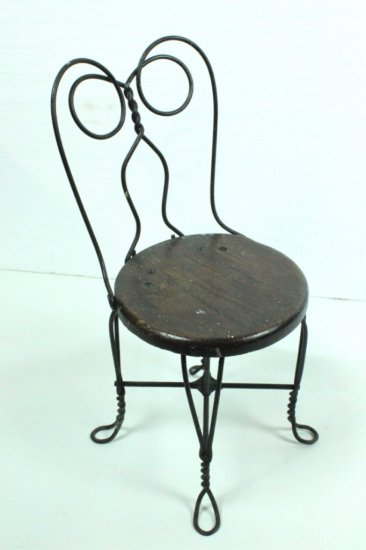 Small Iron Frame Chair