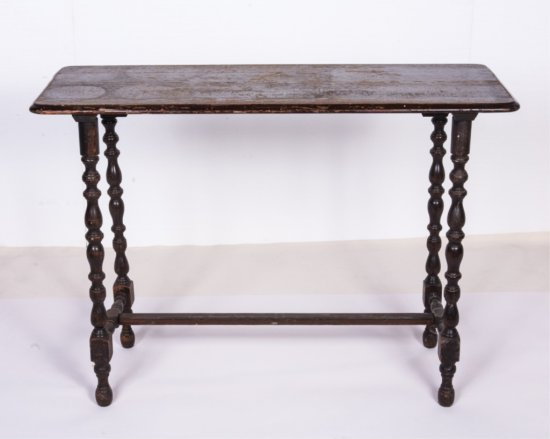 Wooden Hall End Table