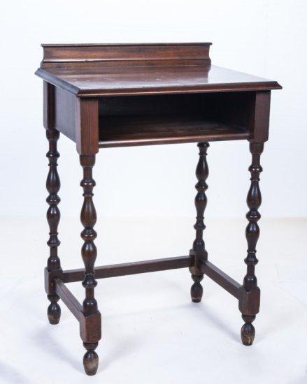 1920's Walnut Telephone Table