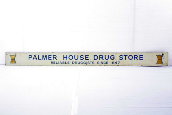 Palmer House Drug Store Marquee Sign