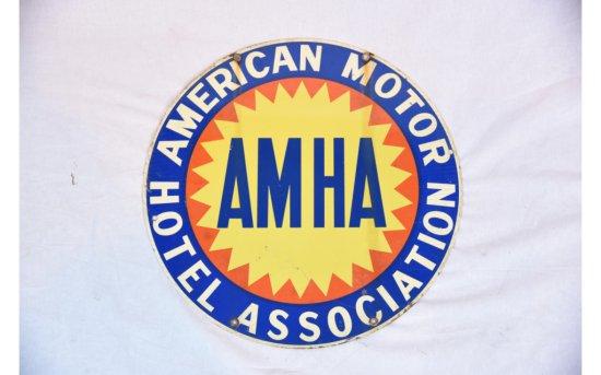 American Motor Hotel Association DDST Sign