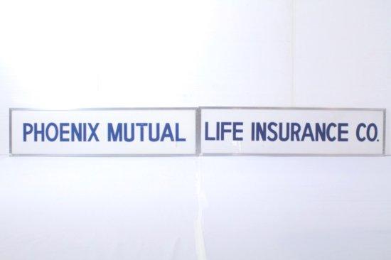 Phoenix Mutual Life Insurance Co. Display Sign