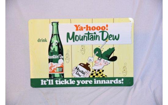 Mountain Dew YA-HOOO! SSTE Sign