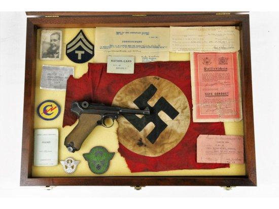 1942 PO8 Luger Vet Bring Back w/Papers