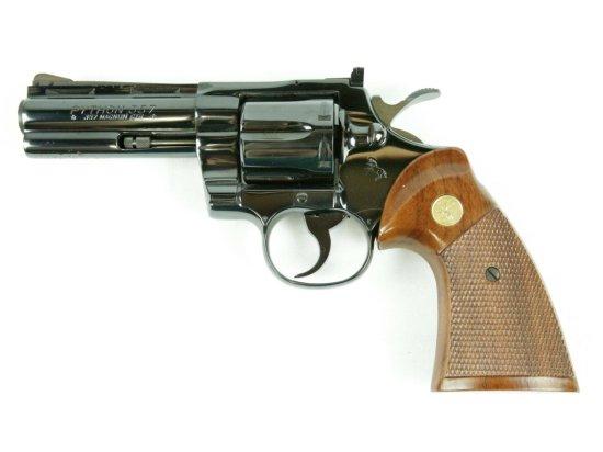 Colt Python, 4 in. BBL Blued
