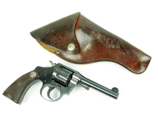 Railway Express Agency Colt Pistol