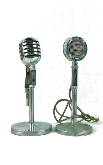 Microphone Electrovoice Model 950 & Astatic D104