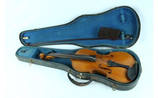 Vintage Violin w/Carrying Case