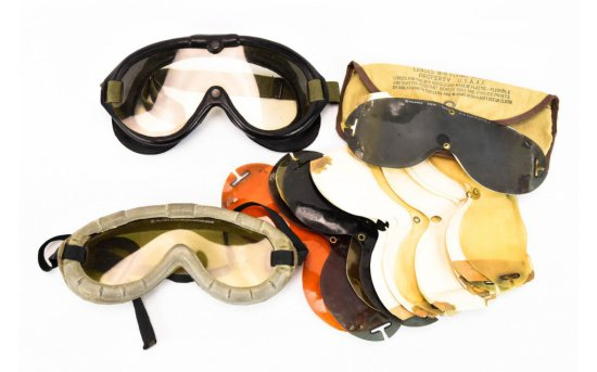 2 Pair US Army Goggles