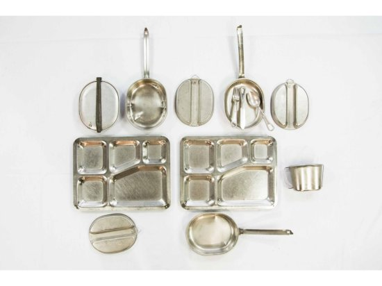 Collection of Military Mess Kits