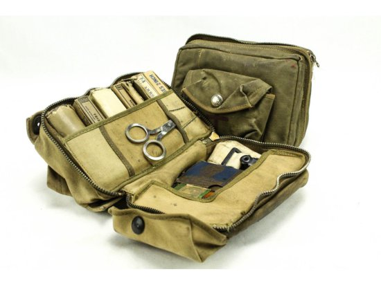 WWII US Air Force First Aid Kits