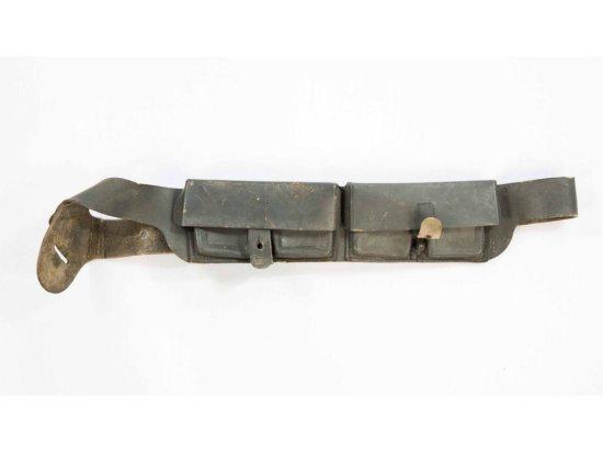 WWII Italian Cartridge Belt