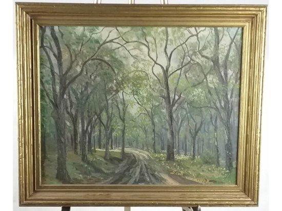 Scott Von Weller Landscape Painting