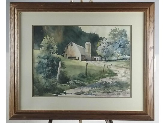 Bob O'Donnell Watercolor Landscape Painting