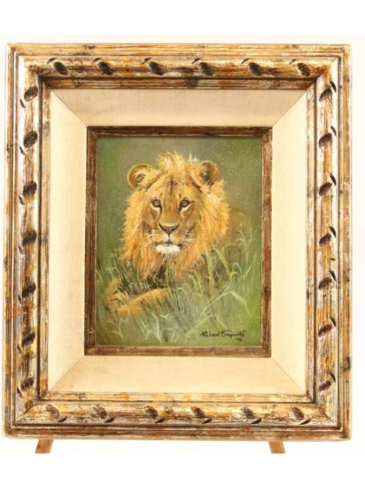 Portrait of a Lion by Robert Saporito