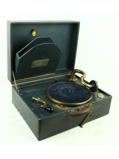 Edison P-1 Portable Needle Record Disc Phonograph